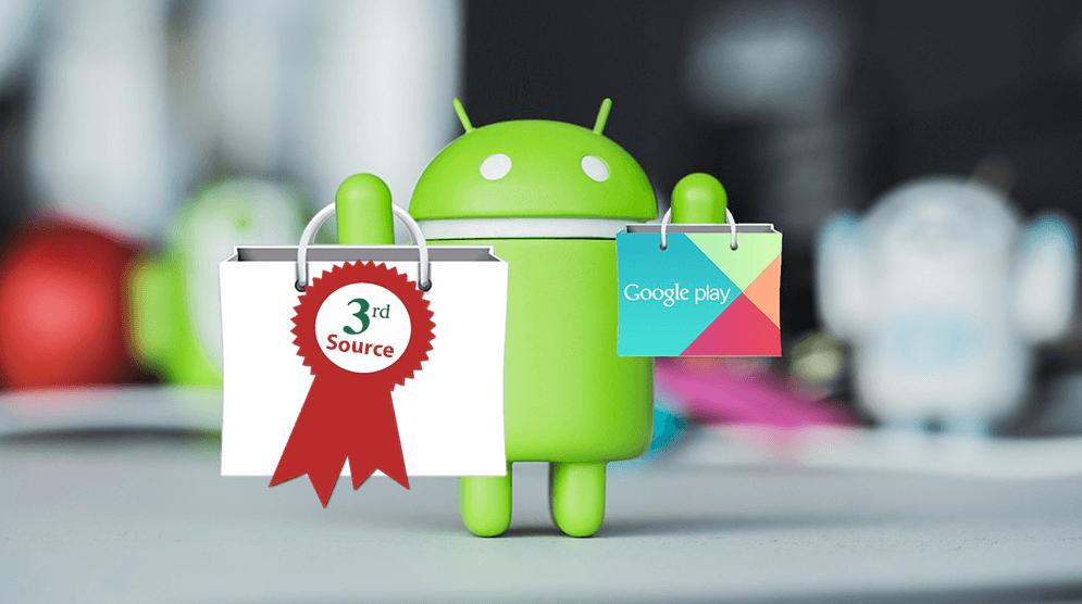 Tải những app Android của bên thứ 3