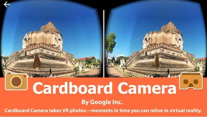 Ứng dụng chụp ảnh trên Android.