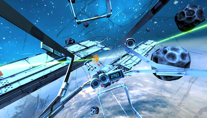 Game thực tế ảo cho Android - Minos Starfighter
