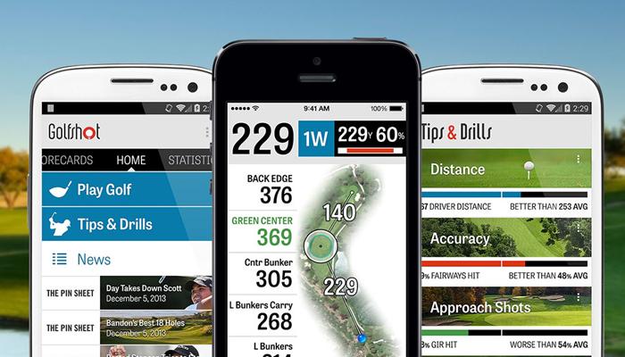 Phần mềm đo khoảng cách trên sân golf - GolfShot