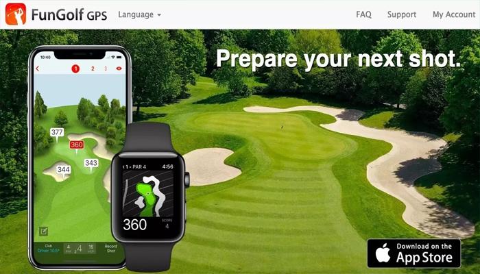 Ứng dụng golf cho smartwatch - FunGolf