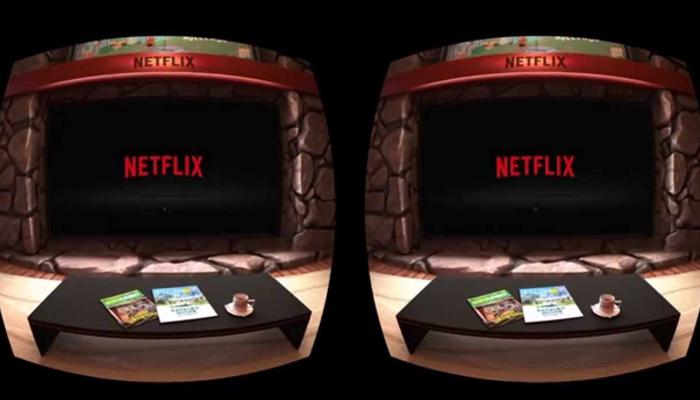 Ứng dụng xem phim thực tế ảo - Netflix VR