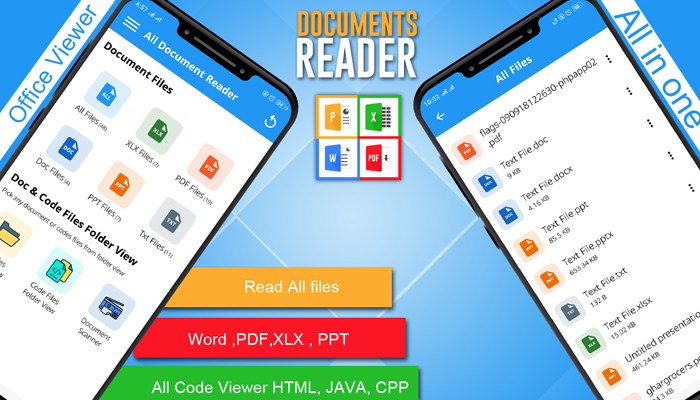 App xem file pdf cho Android - Document Viewer